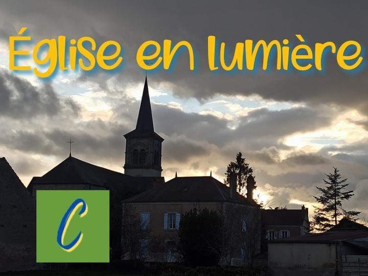 Eglise en lumiere